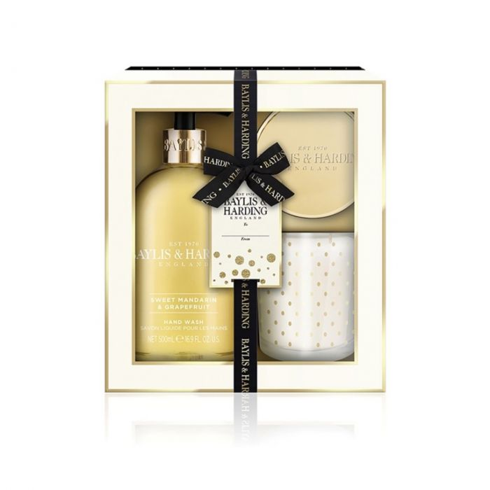 Baylis & Harding Home Gift Set Sweet Mandarin & Grapefruit