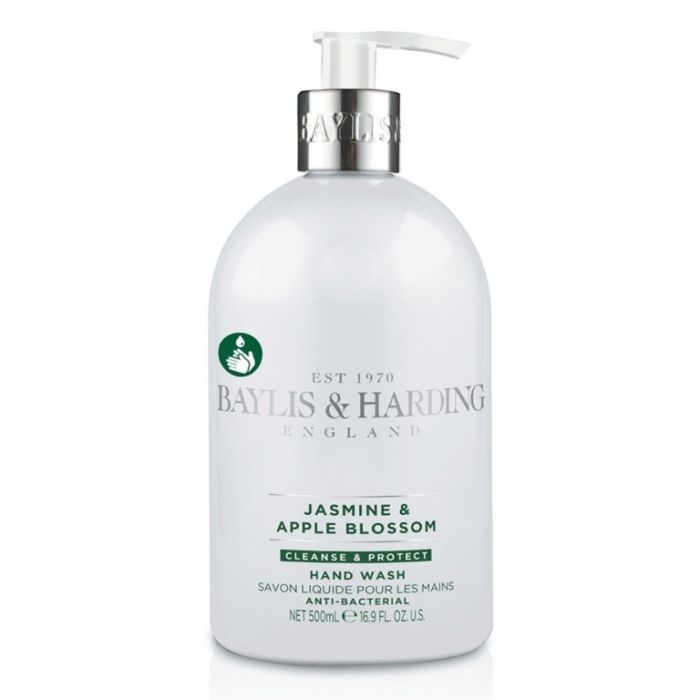 Baylis & Harding Anti Bacterial Hand Wash 500Ml Jasmine & Apple Blossom