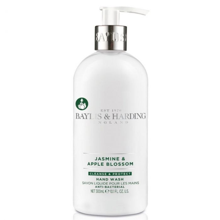 Baylis & Harding Anti Bacterial Hand Wash 300Ml Jasmine & Apple Blossom