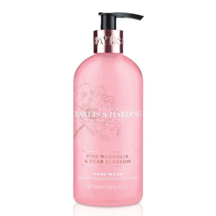 Baylis & Harding Hand Wash 300Ml Pink Magnolia & Pear Blossom