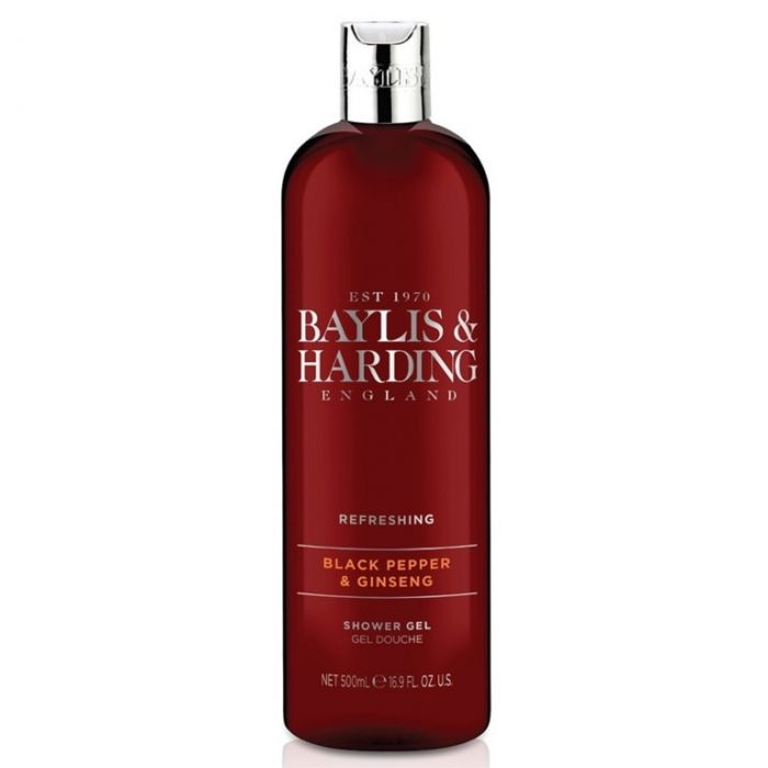 Baylis & Harding Moisturising Shower Gel 500Ml Black Pepper & Ginseng