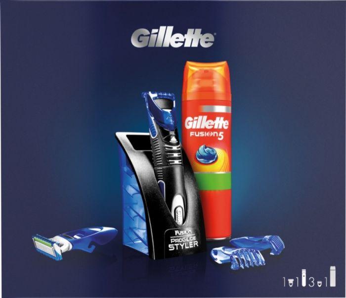 Gillette Fusion Styler Gift Set