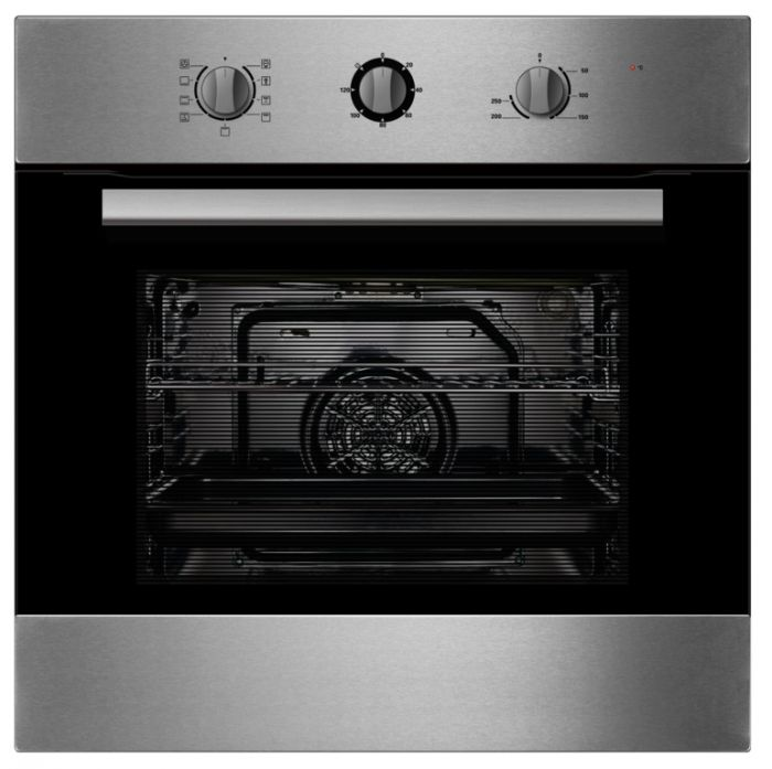 Kitchenplus Stainless Steel Electric Single Fan Oven 600Mm