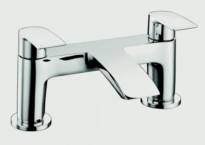 Sp Aero Curve Bath Filler Tap W: 180Mm H: 123Mm D: 105Mm