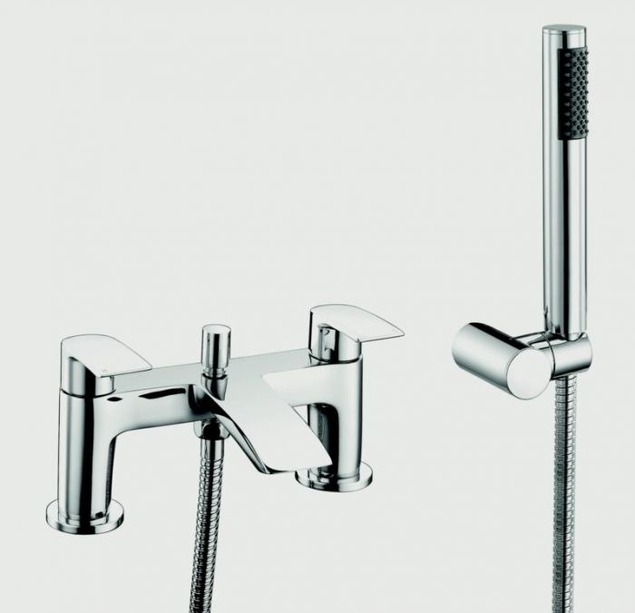 Sp Aero Curve Bath Shower Mixer Tap W: 180Mm H: 123Mm D: 105Mm