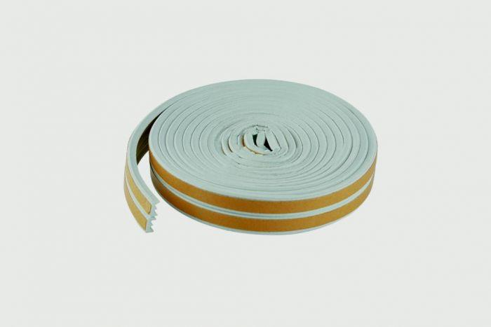 Woodside Epdm E White Rubber Strip 5Mtrs