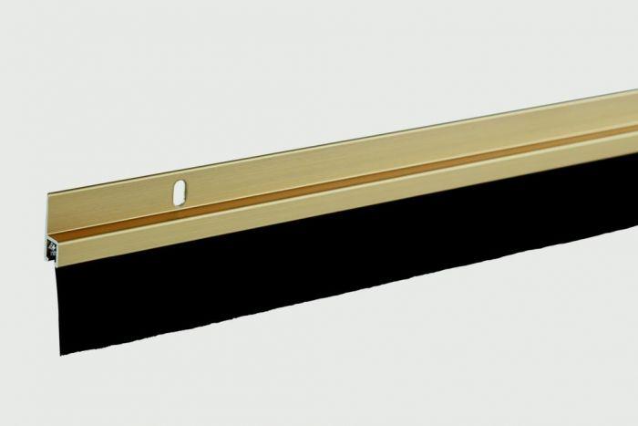 Woodside Aluminium Brush Seal Gold Coloured