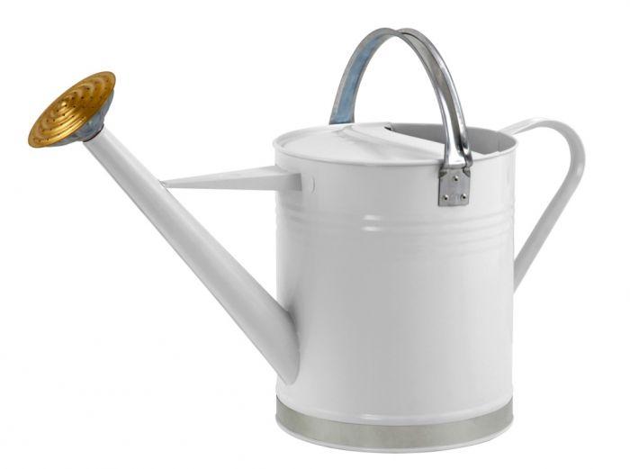 Ambassador Metal Watering Can Cream 2 Gallon