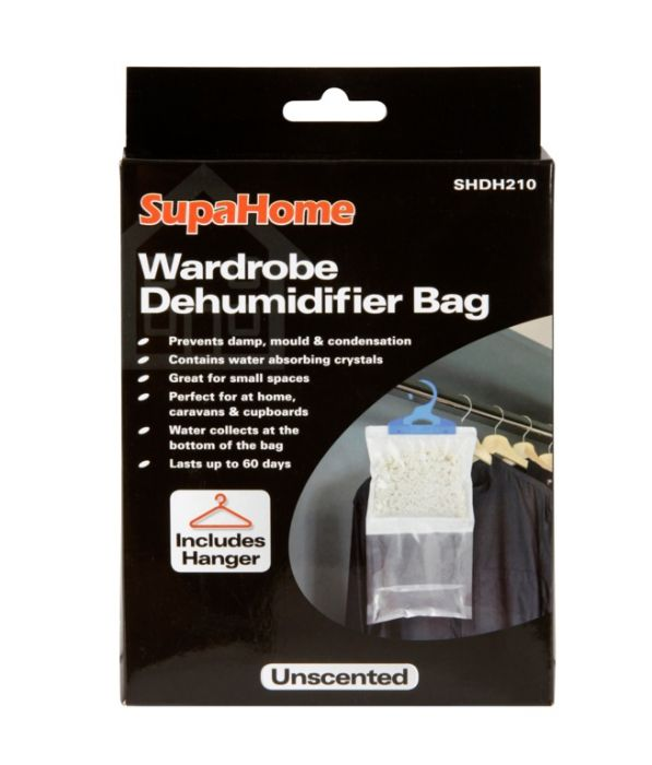 Supahome Wardrobe Dehumidifier Bag 210G