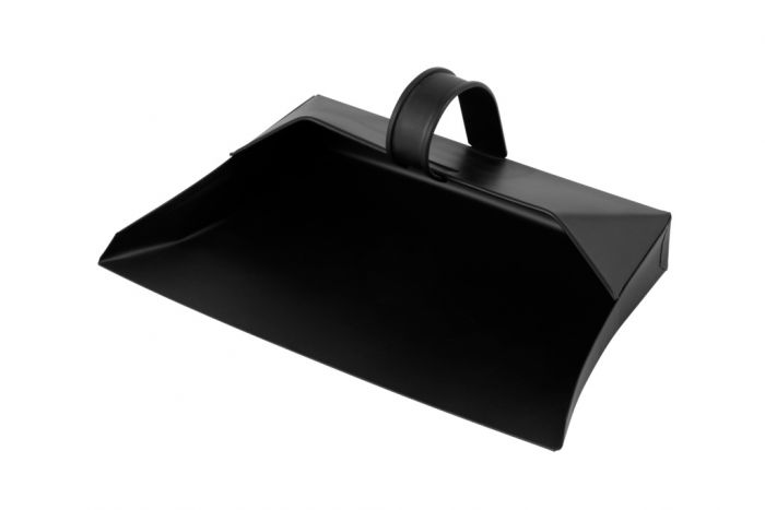 Groundsman Metal Dustpan Black