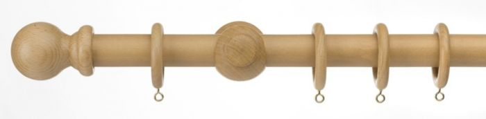 Universal Wood Pole Kit Natural 180Cm