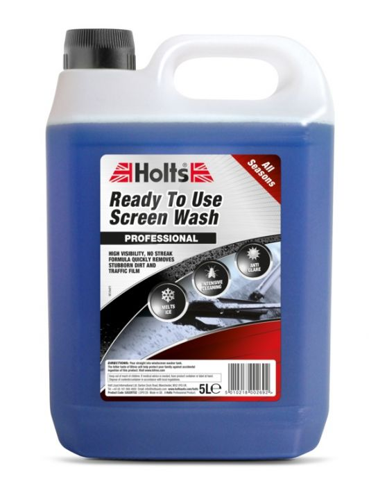 Holts Ready To Use Screen Wash 5L