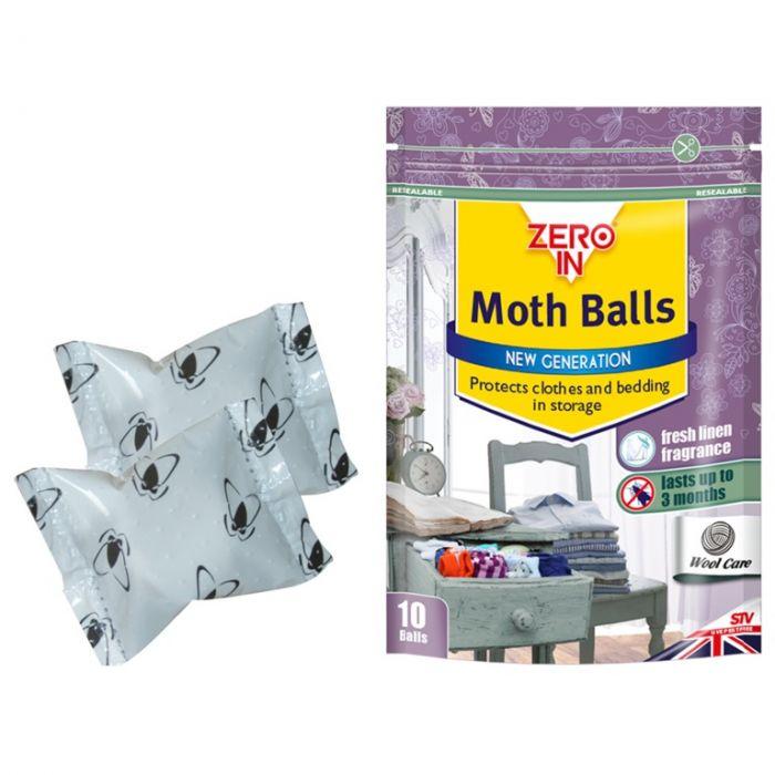 Zero In Moth Balls 10 Balls