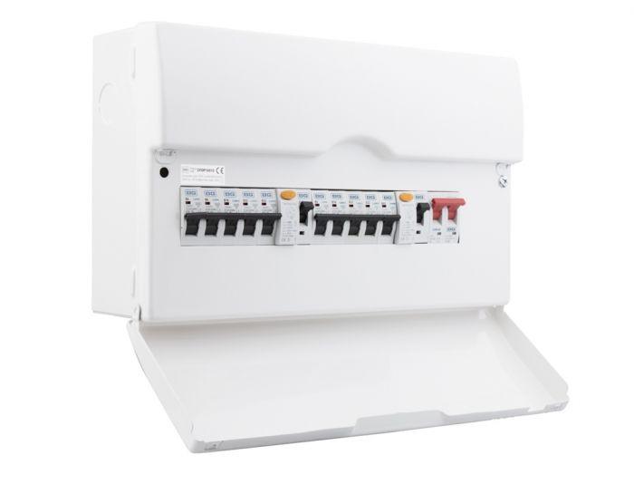Bg Dual Rcd Pre-Pop Consumer Unit 16 Module