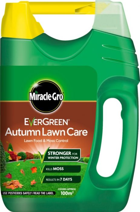 Miracle-Gro Evergreen Autumn Lawn Care 100M2 Spreader