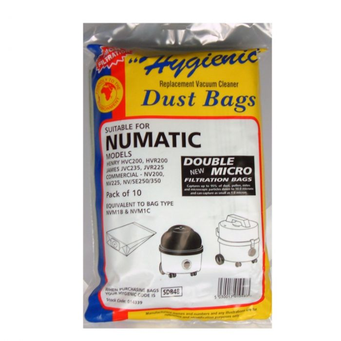 Numatic Nv Bags Pack 10