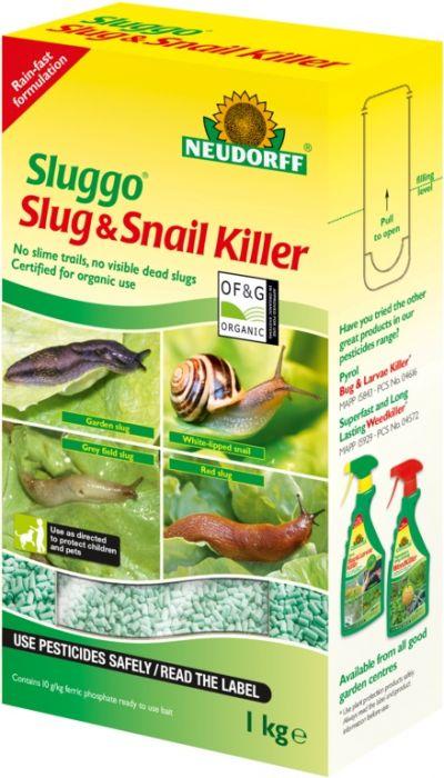 Neudorff Sluggo Slug & Snail Killer 1Kg