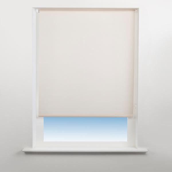 Universal Plain Daylight Roller Blind Almond 90Cm