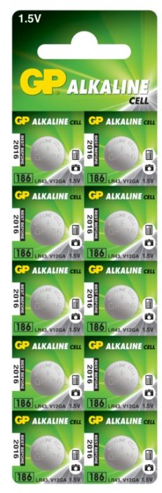 Gp Coin Cell Batteries Lr43