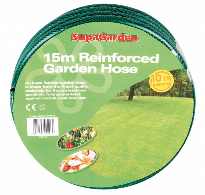 Supagarden Reinforced Garden Hose 15M