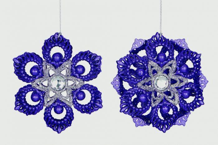 Glitter Flower Decoration