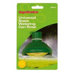 Supagarden Watering Can Rose Brass