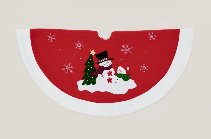 Snowman Tree Skirt