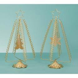 Glitter Hanging Tree Cardholder