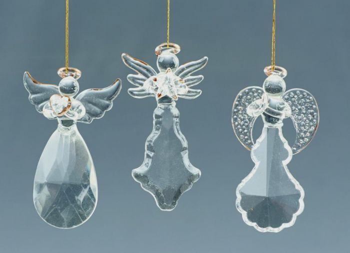 Gold Glass Angels