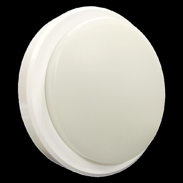 Lyveco LED Bulkhead IP54 800lmn 4000k 10w Round