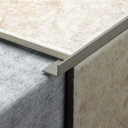Tile Rite L Shape Grey Tile Trim 2.44m x 10mm
