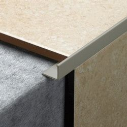Tile Rite L Shape Grey Tile Trim 2.44m x 12mm