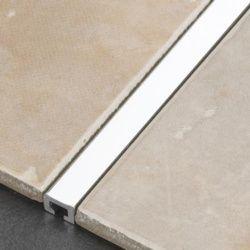 Tile Rite Silver Listello Strip Tiles 2.44m x 10mm
