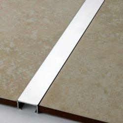 Tile Rite Silver Listello Strip Tiles 2.44m x 20mm