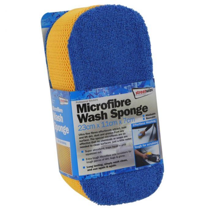 Streetwize Microfibre Wash Sponge