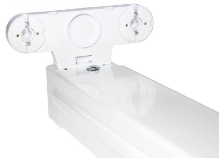 Powermaster LED Batten Fitting T8 Twin 5ft x 150cm