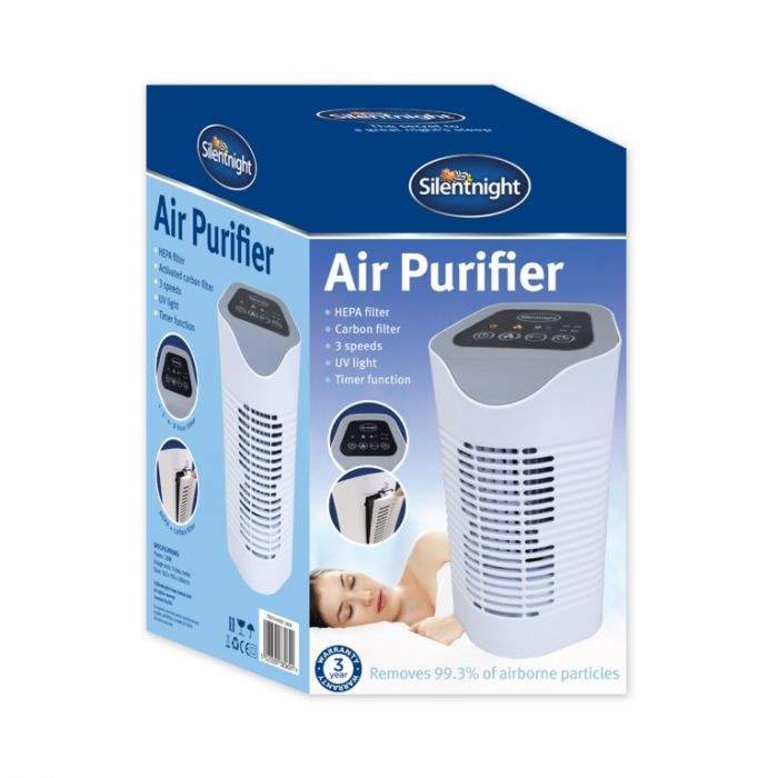 Silentnight Air Purifier White