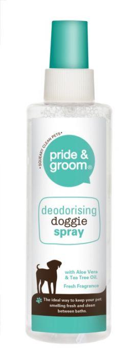 Pride & Groom Deodorising Spray 200Ml