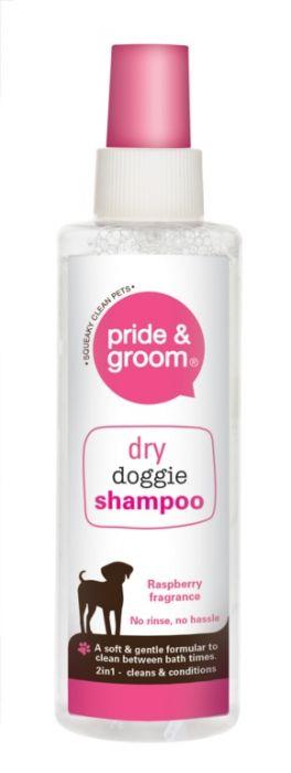 Pride & Groom Dry Shampoo Spray 200Ml