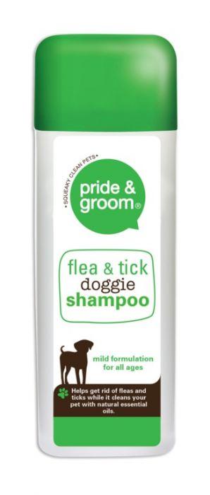 Pride & Groom Flea & Tick Doggie Shampoo 300Ml