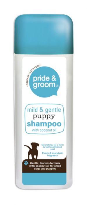 Pride & Groom Mild & Gentle Puppy Shampoo 300Ml