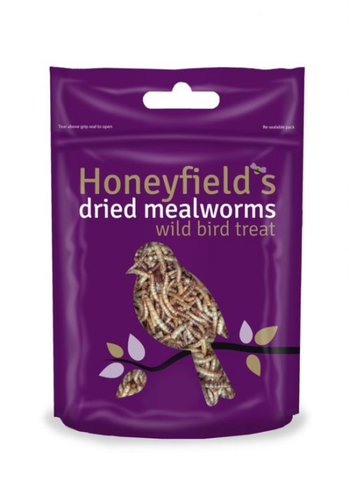 Honeyfield's Mealworms 100G