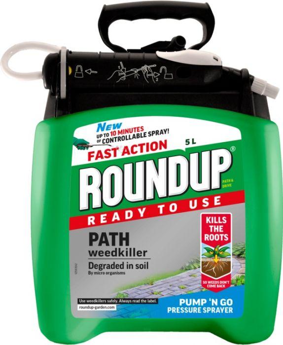 Roundup Path & Drive Pump N Go 5L