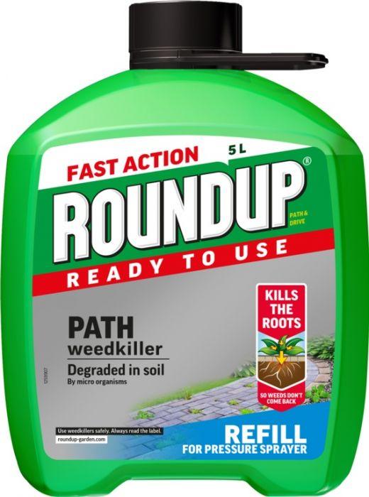 Roundup Path & Drive Refill 5L