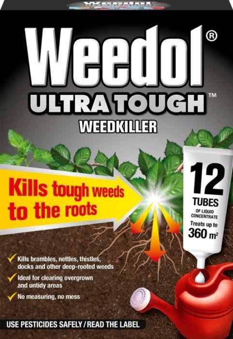 Weedol Ultra Tough 12 Tubes