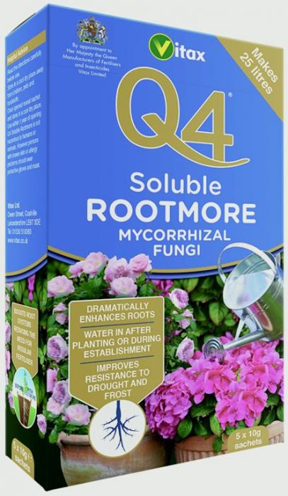 Vitax Q4 Rootmore Soluble 5X10g