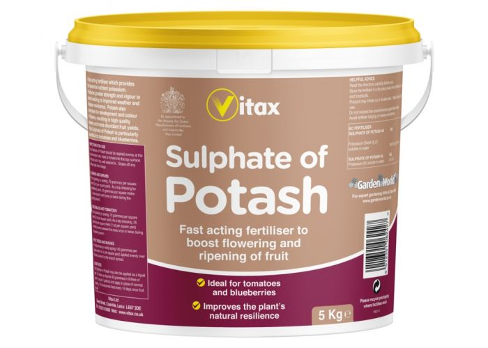 Vitax Sulphate Of Potash 5Kg