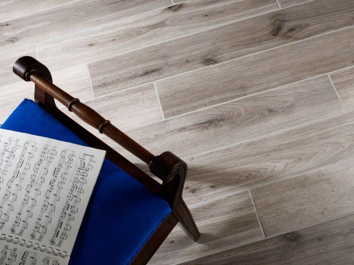 Verona Aragon Wood Effect Tile 150 X 900 X 9Mm Grey 1.08M2 Per Pack