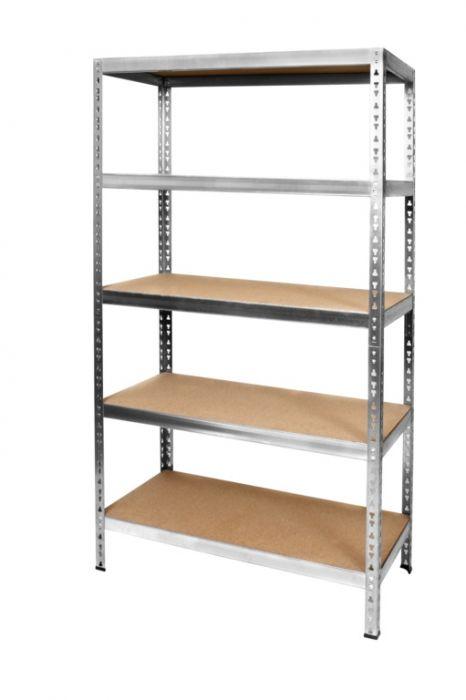 B!Organised Heavy Duty Metal Free Standing Unit Assembled Dimensions 180 X 90 X 45Cm