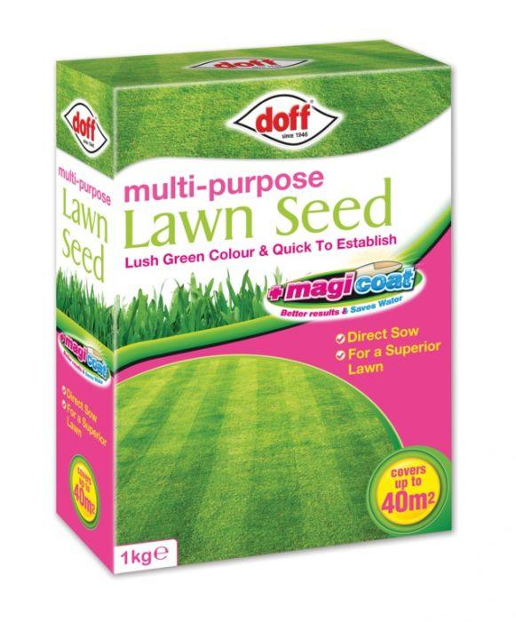 Doff Multi Purpose Magicoat Lawn Seed 1Kg